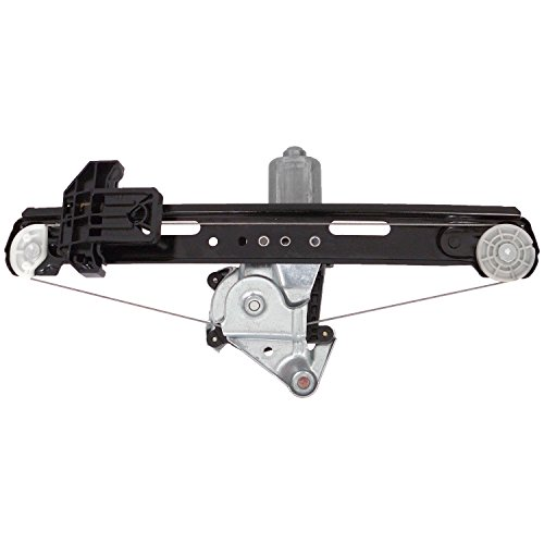 ACDelco 11A527 Professional Rear Passenger Side Power Window Regulator with Motor