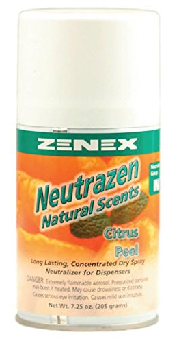 Zenex Neutrazen Citrus Peel Scent Metered Odor Neutralizer - 12 Cans (Case)