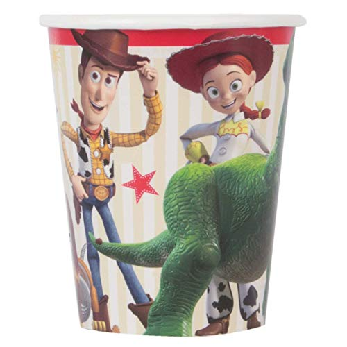 Unique Industries Disney Toy Story 4 Movie 9oz Paper Cups (8 Per Package)
