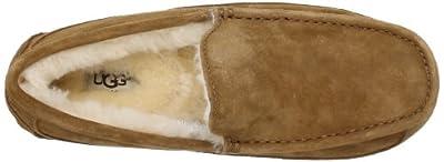 Ugg Men's Ascot Espresso Suede Wool Slipper