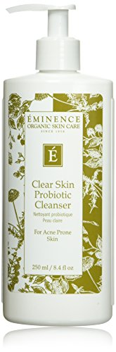 Eminence Clear Skin Probiotic Cleanser, 8.4 Ounce (Best For Clear Skin)