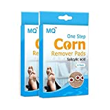 UniMQ One Step Corn Remover Foot Corn Remover Pads Corn & Callus Remover Cushions Corn Plaster with Hole Health Care Pain Relief Herbal Patch Remedy 6/12 Patch (2box)