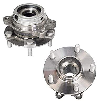 Bodeman - Pair 2 Front Wheel Hub and Bearing Assembly for 2009 2010 2011 2012-2020 Nissan Murano/ 2011 Nissan Quest: Automotive