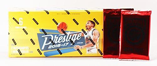 2016-17 Panini Prestige Basketball Hobby Box + 2 Panini Day (Basketball Factory Sealed Hobby Box)