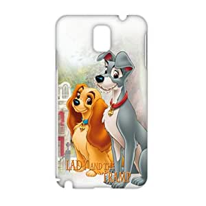 Wish-Store Lady and the tramp 3D Phone Case for Samsung Galaxy Note3