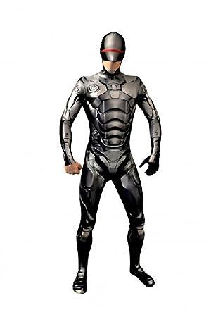 Morphsuits Costume Robocop Adult Xl 180 M 190 M Amazoncouk