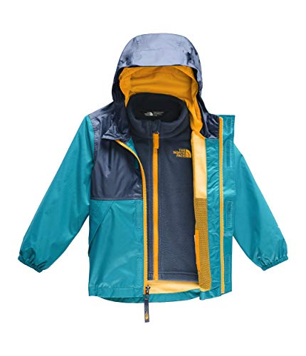 (The North Face Kids Baby Boy's Stormy Rain Triclimate¿ Jacket (Toddler) Caribbean Sea)
