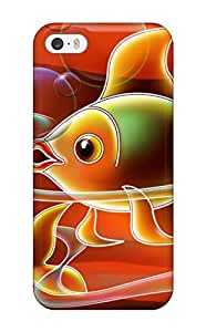 New Golden Fish Tpu Case Cover, Anti-scratch JqXVn3579NGqAt Phone Case For Iphone 5/5s
