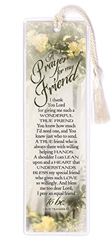 James Lawrence Bookmark-A Prayer For My Friend ,Multicolor ,2x6