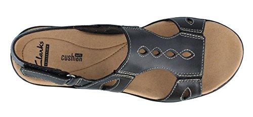 Women's Sandals Black Leisa Clarks Lakelyn d7wBn1dqZ