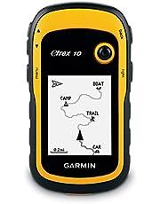 Garmin eTrex 10 Outdoor GPS-navigatie, 2,2 inch Monochrome, Batterijduur tot 25 uur, Zwart/Geel