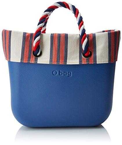 O bag B002_026, Borsa a Mano Donna, Multicolore (Cobalto), 11x31x40 cm (W x H x L)