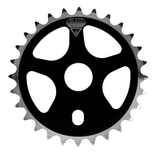 BLACK OPS BLADE 43T CHROME BICYCLE SPROCKET