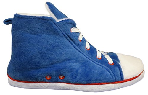 RTB - Zapatillas de estar por casa para hombre Azul - Blue Fur Lined