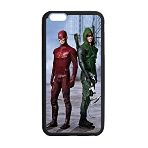 the Case Shop- Customized the Flash TV Show and The ArrowTPU Rubber Case Cover Skin for iPhone 6 Plus 5.5 Inch , i6pxq-534