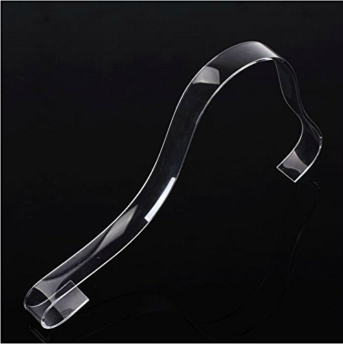 Pack of 10 Clear Acrylic Sandal Shoe Store Display