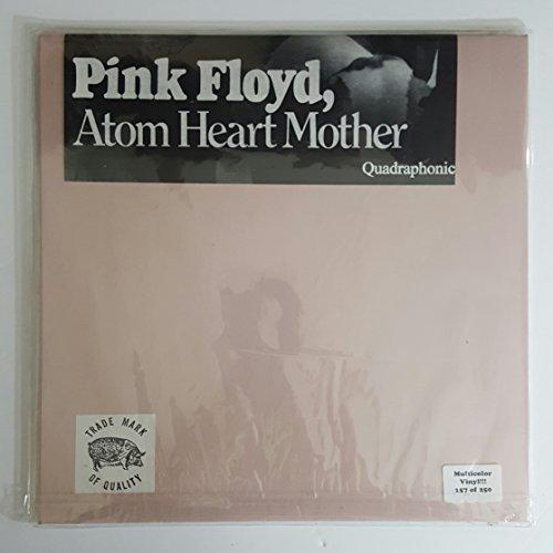 Pink Floyd/ Atom Heart Mother Quadraphonic Multicolor Vinyl ULTRA RARE IMPORT #157 of 250