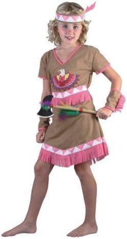 Humatt Perkins 51555 - Disfraz de india para niña, talla M/ 7-10 ...