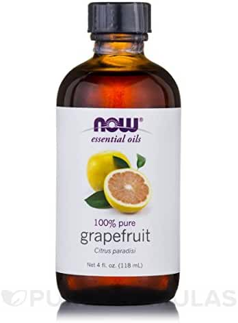 NOW Foods Essential Oil, Grapefruit, 4 Ounce