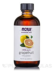 NOW Foods Essential Oil, Grapefruit, 4 Ounce