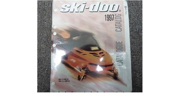 ski doo manual 1997