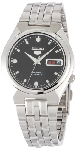 Black Self Winding Bracelet (Seiko 5 #SNKL71 Men's Stainless Steel Black Dial Self Winding Automatic Watch)