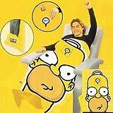 THE SIMPSONS Homer Simpson Edition TV Sofa Fleece Snuggle BLANKET