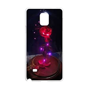 Disneys Beauty And The Beast Samsung Galaxy Note 4 Cell Phone Case White DAVID-189526