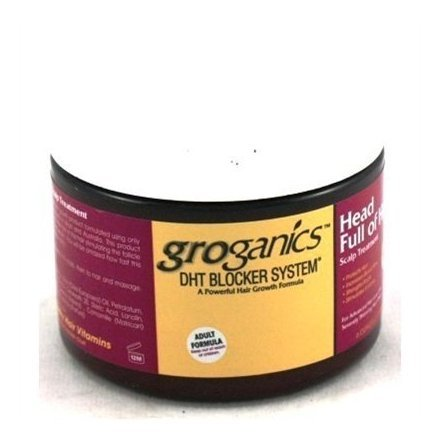 Groganic Dht Head Full of Hair Treatment 6 oz. by Groganic