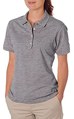 Jerzees Ladies' Spotshield Jersey Polo Shirt