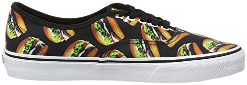 Black Authentic Vans Hamburgers Vans Authentic qPtS7t