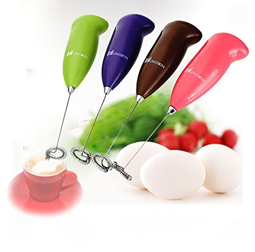 Price comparison product image Tool Steel Round - Mini Electric Egg Beaters Coffee Bubble Frother Handheld Foamer Whisk Mixer Drink Stirrer Bar - Rod Stock Bar S7