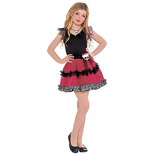 Monster High Halloween Tutu Dress Costume for Girls, One Size, by -