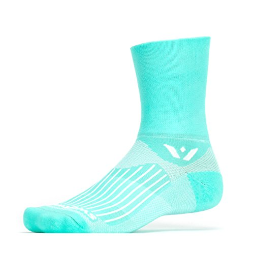 Swiftwick - Aspire FOUR, Quarter Crew Socks for Trail Running and Cycling