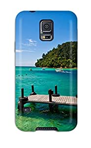Defender Case For Galaxy S5, Nature In Malaysia Pattern