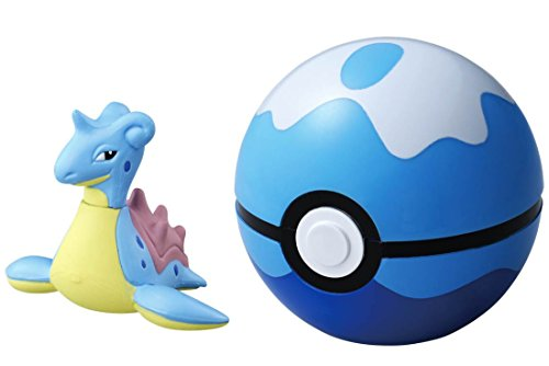 Pokemon Monster Collection B-10 Tauch Ball & Laplace