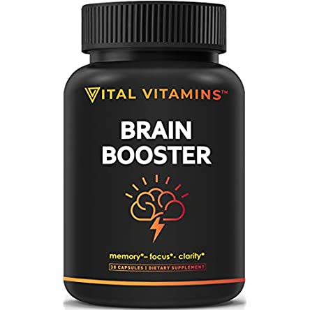 Brain Supplement Nootropics Booster – Enhance...