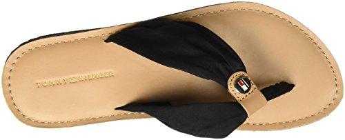 Noir Bout M1285onica 14d3 990 black Ouvert Sandales Tommy Femme Hilfiger w0q4x1x7U