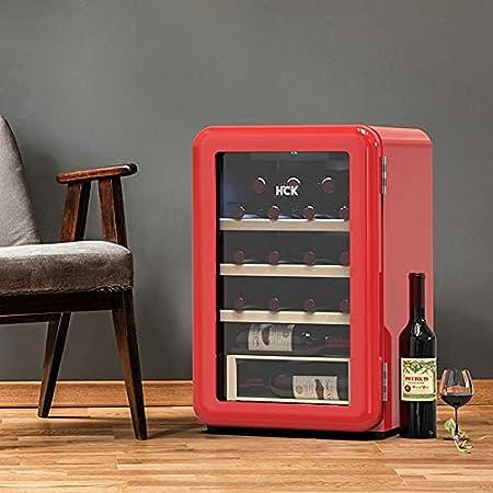 Hmvlw Vinoteca refrigerada Refrigerador de vinos electrónicos Cocina de cocina Restaurante refrigerado refrigerador refrigerador electrónico Temperatura constante del vino Cooler Red Wine Cooler