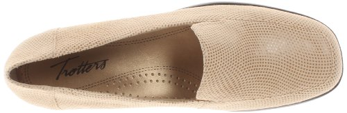 Trotters Da Donna Jenn Mini Dot Slip-on Mocassino Nudo