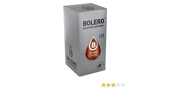 Bolero Preparado para Bebida, Sabor Almond - 12 sobres: Amazon.es: Salud y cuidado personal
