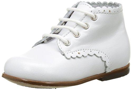 Little Mary 49700984, Zapatos de Primeros Pasos Niños Blanco (Vachette Blanche)
