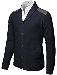 Mens Casual Cardigan Sweaters Premium Thermal Warm Long Sleeve Knitted Jackets
