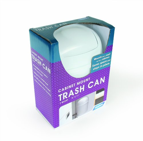 Camco-Cabinet-Mount-Trashcan-Mountable-Trash-Bin-For-Cabinet-Doors-and-Tight-Places-Wont-Move-Out-of-Place-During-Travel-Perfect-For-RVs-Campers-and-More-3-Qt-5-x-11-43961