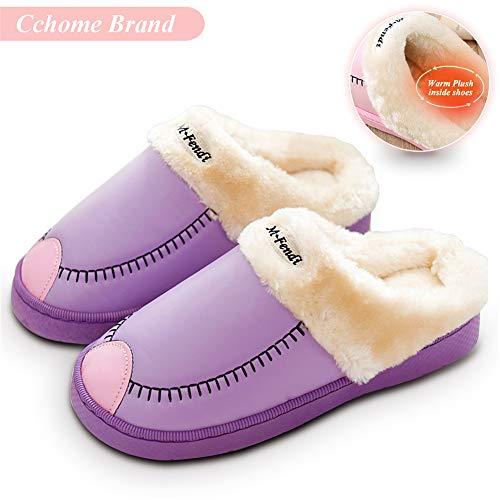 pour KimKo pour pour KimKo Violet Femme Chaussons Chaussons KimKo Femme Violet Chaussons rqzx6fZr