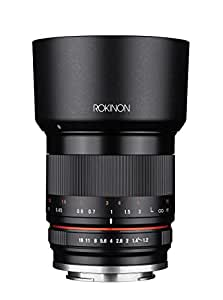 Rokinon 35mm F1.2 High Speed Wide Angle Lens for Fujifilm X Mount - Black - Fuji X