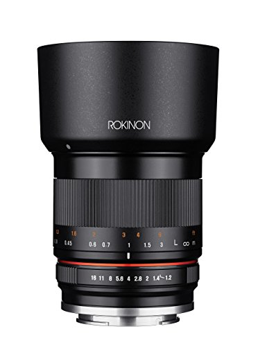 Rokinon 35mm F1.2 High Speed Wide Angle Lens for Fujifilm X Mount - Black - Fuji (Fujifilm Wide Angle Lens)