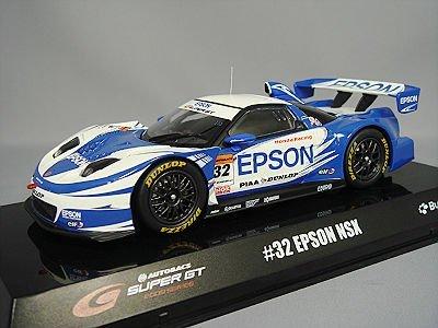 1/32 EPSON NSX DUNLOP #32(ホワイト×ブルー) 「オートバックス SUPER GT 2009シリーズ」 BB525A