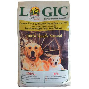 Nature'S Logic 858155001270 Dry Dog Duck and Salmon, 4.4-Pound Bag, My Pet Supplies