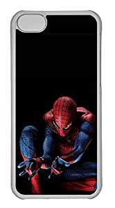iPhone 4 4s Case, iPhone 4 4s Cases - Protective Clear Hard Back Cover Case for iPhone 4 4s The Amazing Spider Man Slim Fit Design Clear Back Case for iPhone 4 4s